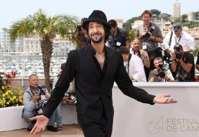 adrien brody cannes