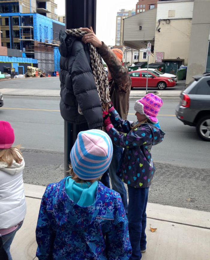 children-donate-warm-clothes-homeless-winter-canada-tara-smith-atkins-4