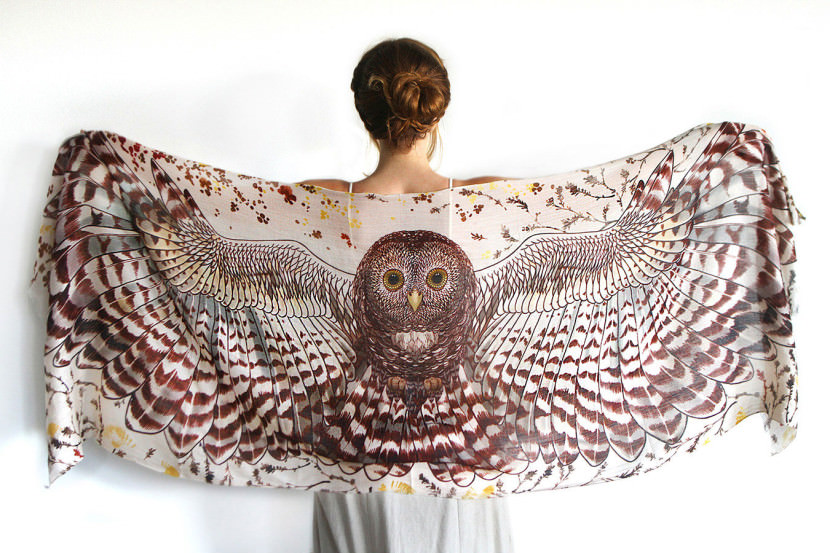 Melbourne-artist-creates-scarves-that-will-give-you-wings5-830x553