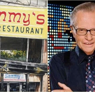 sammy's romanian food larry king